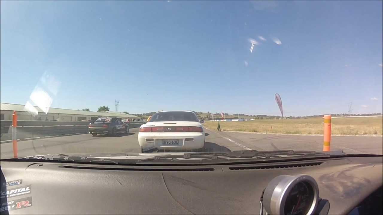 Nissan 180sx Wakefield November 2012 Drift Matsuri