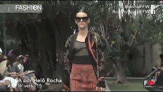 TE CA x HELO ROCHA Summer 2015 Sao Paulo - Fashion Channel