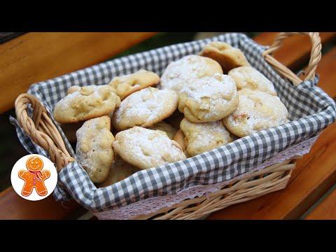 Быстрое Домашнее Мягкое Печенье с Яблоками