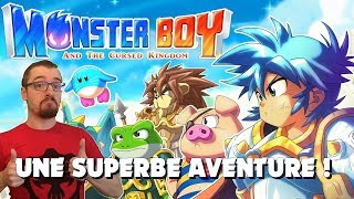 Vidéo-Test : MONSTER BOY AND THE CURSED KINGDOM le TEST : UNE SUPERBE AVENTURE !