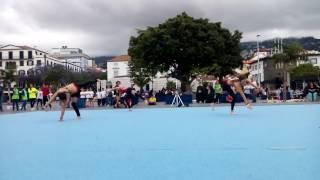 Luana /Rute/Inês - Trio Fem. Acrobática Porto Santo - Exibições Praça do Povo - FDE'16