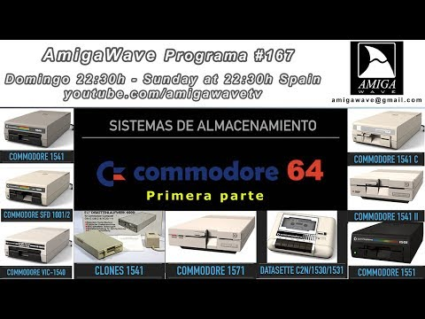 AmigaWave #167 - Sistemas de almacenamiento para Commodore 64, parte I