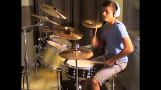 AlexODrums - Big Time Rush - 24/Seven (Drum Cover)