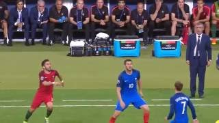 Euro 16 Final Portugal Éder Goal Slow Motion, Chariots of Fire & Fan