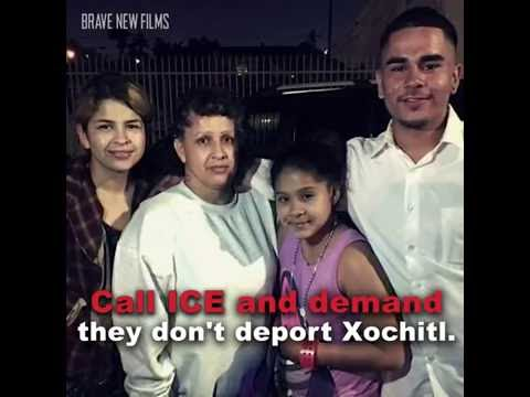 Xotchitl's Story: ICE, Bail, and Fear of Deportation • BRAVE NEW FILMS