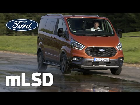 Mekanisk differensial med begrenset glidning | Ford Tourneo Custom Active | Ford Norge