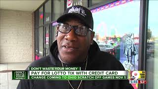 Ohio Lottery to accept credit cards