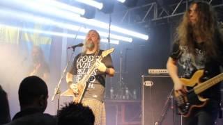 Bucovina Live Thorhammerfest 2016 - Sao Paulo - Brazil - Wall of death