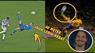 Lihat Cara IBRAHIMOVIC Menilai dan Membandingkan Gol Indah Cristiano Ronaldo