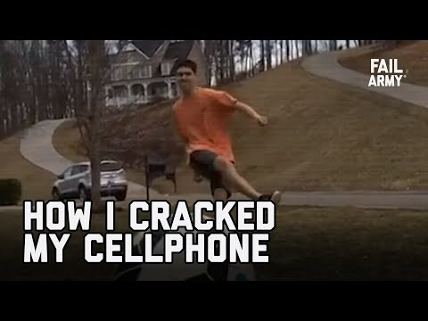 How I Cracked My Cellphone Screen (July 2020) | FailArmy