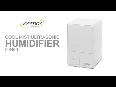 IONMAX ION50 Ultrasonic Cool Mist Humidifier