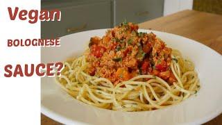 Molho a Bolonhesa VEGANO fácil/ Pasta com legumes fácil e barata
