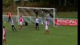 Mark Harris Goal for Bala againt Llanrug