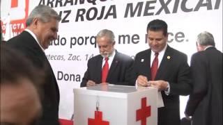 Encabeza MAR banderazo de arranque de colecta 2016 de la Cruz Roja Mexicana.