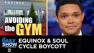 Backlash Over SoulCycle & Equinox Owner's Trump Fundraiser | The Daily Show