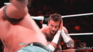 """WWE [HD] : CM Punk Custom Titantron - """"This Fire Burns"""" (Pitched)"""