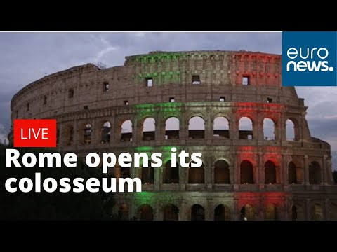 Rome reopens colosseum | LIVE