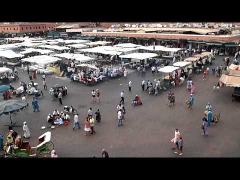 モロッコ・マラケシュのフナ広場③(10.09.23)