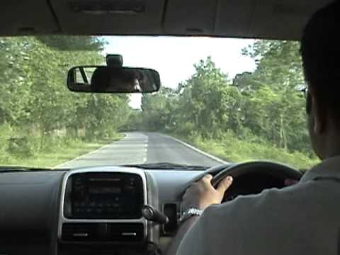 Driving in Cox's Bazaar
