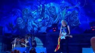 Iron Maiden-Wasted Years-Live At Buchurest-30-7-2016-The Book Of Souls Tour