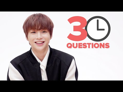 30 Questions In 3 Minutes with KANG DANIEL