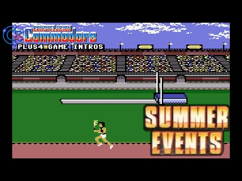 PLUS4 Game Intro: Summer Events (Kingsoft/Anco,,1987)