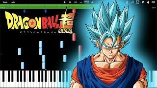 The Ultimate Super Warrior Is Born - Dragon Ball Super OST (Piano Tutorial) [Synthesia]
