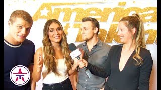 America's Got Talent: We Three On Taking A MAJOR RISK W/ Their AGT Song Choice!