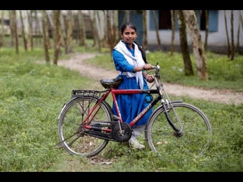"""""""Det är min rättighet att cykla"""""""