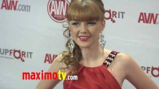 Marie McCray at 2012 AVN AWARDS Show Red Carpet Arrivals