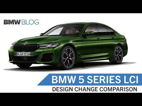 BMW 5 Series LCI Comparison