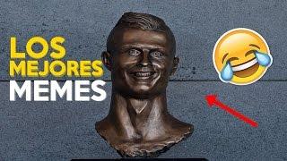 Los mejores MEMES del busto de Cristiano Ronaldo en el Aeropuerto de Madeira