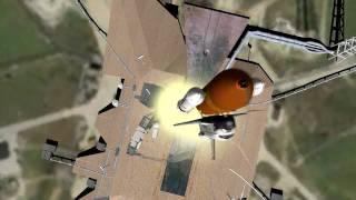 (STS - 51-L) Challenger Explosion - Orbiter 2010 and Live CNN Transmission