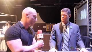 Simon Miller Talks Wrestling Training With Cody Rhodes