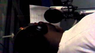 Lil woop in da studio