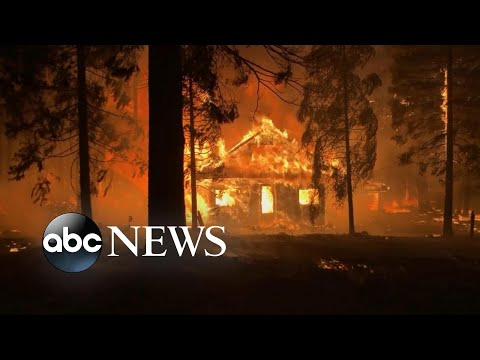 California's largest wildfire prompts home evacuations