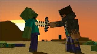 [Minecraft Animation] ruined world /[マインクラフト アニメ] コワレタセカイ ト タビビト ト
