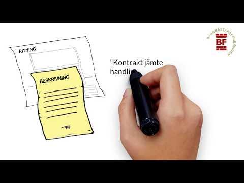 Omfattningen av kontraktsarbetena - Entreprenadjuridik för nybörjare, del 1