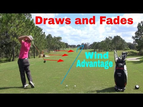 Hitting Draws and Fades. Using wind to your advantage ☼ How to cut strokes off your game.