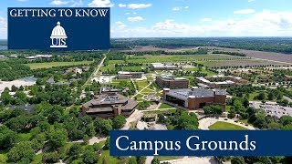 Getting to Know UIS: Campus Grounds