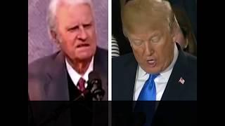 Presidente Trump presta homenagem emocionante a Billy Graham