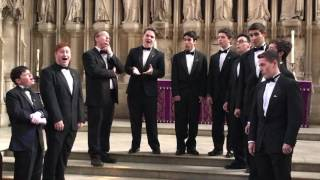 The Men's Room performs Coney Island Baby in New College Oxford