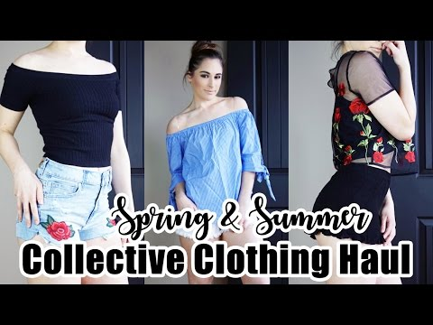 Collective Spring/Summer Try On Clothing Haul!    American Eagle, Forever 21, CupShe & More!