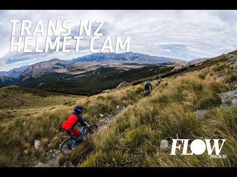 Trans NZ Enduro 2018: Helmet Cam, Day 2, Stage 1.