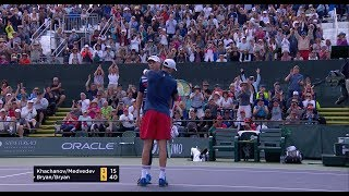 Bryan Brother's Doubles Shot of the Day at the BNP Paribas Open
