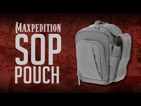 MAXPEDITION Advanced Gear Research SOP Side Opening Pouch