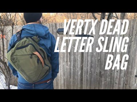 Vertx Dead Letter Sling Bag: Multiple Carry Configurations, Excellent Construction