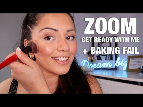 FAMILY QUIZ ZOOM GET READY WITH ME & A BAKING DISASTER ?| KAUSHAL