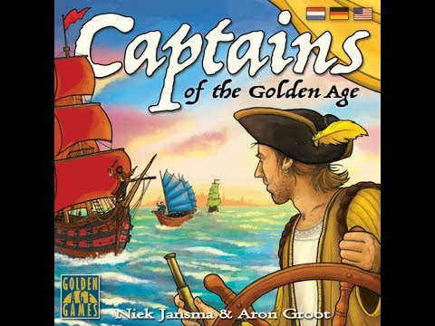 Reseña Captains of the Golden Age
