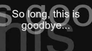 10 Years- So Long, Goodbye (lyrics)